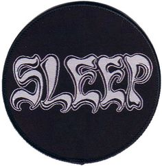 cd47f20580c Sleep - Logo (Band Patch) Sleep Logo