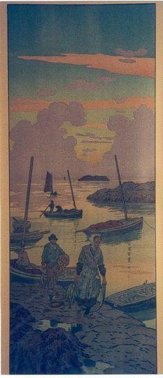 Henri Rivière - le crépuscule