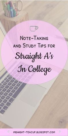 Wondering how to get good grades in college? Read my blog post for my note-taking tips and study advice to help you do the best you can in your classes!