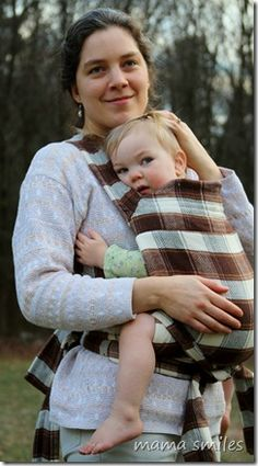 McCalls has a pattern for a Mei Tai baby carrier. Just may have to try it.