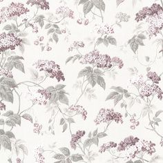 2668-21521 Rose Blossom Trail - Emily - Somerset House Wallpaper by Beacon House