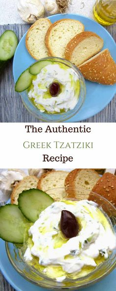 A creamy Greek yogurt and garlic dip, Greek Tzatziki is one of the worldwide favorite dips. Truly appetizing and refreshing, matches almost every dish and all occasions. Must-try! #Tzatziki, #Greekfood, #Recipe, #Greekyogurt, #Dip