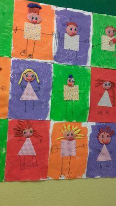 Simple & Fun Rocket Craft For Kids Body Preschool, Preschool Crafts, Grade 1 Art, Art For Kids, Crafts For Kids, All About Me Preschool, Classroom Art Projects, Easy Fall Crafts, Kindergarten Art