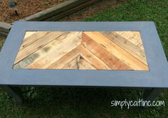 Upcycled Coffee Tabl