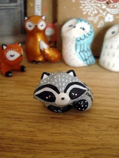 I just love it ! Totem de poche Mon Raton-laveur oMamawolf - de oMamaWolf sur DaWanda.com