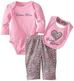 Calvin Klein Baby-Girls Newborn Bodysuit with Printed Pants and Bib, Pink, 0-3 Months Calvin Klein http://www.amazon.com/dp/B00K1BCK1K/ref=cm_sw_r_pi_dp_Z2tAvb06E6QAG