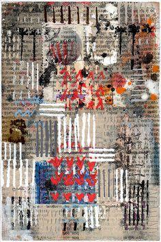 Feenstra #art #collage #newartwork #modernart #mixedmediaart #text #image #narrative