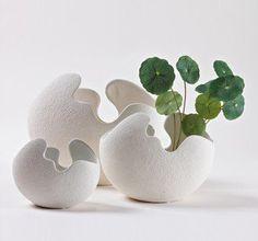 beautifully crafted cyramic eggshells :)