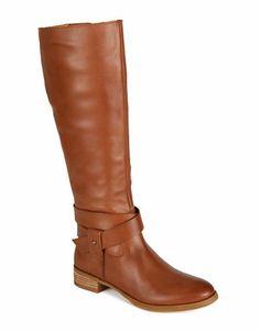 fe9b5744334 Nine West - Vecelia Classic Leather Riding Boots