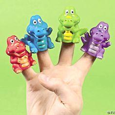 Alligator Finger Puppets (12)