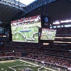 • Dallas Cowboys Stadium •   Vision IS Important!  http://SoughtAfterSpeaker.com