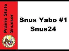 Snus24 Yabo - Snus YABO #1 - Prairie State Snusser