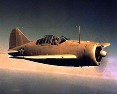 United States' Brewster F2A Buffalo fighter