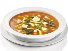 Receta de Sopa Mexicana de Elote y Rajas