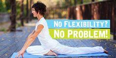 Not flexible? Who cares! #YogaforEveryone   Via: DoYouYoga