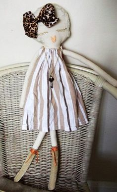 ❤︎ ivy handmade rag doll