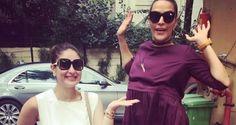 Video: Watch Pregnant #KareenaKapoor Makes #NehaDhupia Jump With Joy!