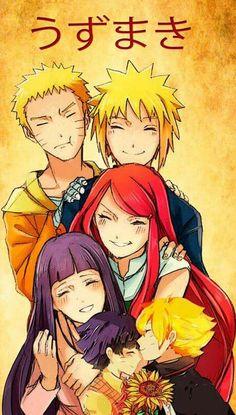 I wish Hinata met them! Credit to artist, the people who pinned this, and you! I love the Uzamaki so much i think that Kushina would like Her. -------------------Do you like Minato? Naruhina, Naruto Uzumaki, Anime Naruto, Himawari Boruto, Minato Kushina, Naruto Cute, Hinata Hyuga, Naruto And Sasuke, Gaara