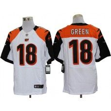 NFL Jersey's Youth Cincinnati Bengals AJ Green Nike Black Team Color Game Jersey