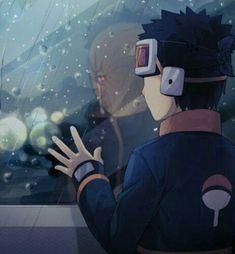 Naruto Sharingan, Naruto Uzumaki Shippuden, Naruto Sad, Pain Naruto, Kakashi And Obito, Tobi Obito, Naruto Anime, Wallpaper Naruto Shippuden, Sarada Uchiha