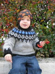 Ravelry: Project Gallery for Child's Icelandic Pullover pattern by Astrid Ellingsen