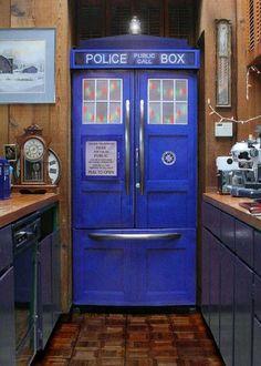 The New Version of Tardis Refrigerator