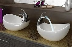 Vessel sinks used to be exclusive designer chooses back prior to the design caught fire in the late These attention-grabbing lavs are still hugely preferred as well as could be a wonderful . Read Best Vessel Sink Ideas For Your Dream House Bathroom Furniture Design, Bathroom Sink Design, Vessel Sink Bathroom, Bathroom Faucets, Vanity Bathroom, Glass Bathroom, Kitchen Sinks, Bathroom Vanities, Design Kitchen