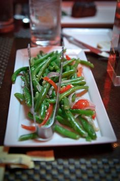 Green Beans at Red Prime Steak in Oklahoma City