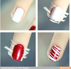 I love doing this with my nails!