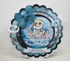 Paper, Pens and Pretty Things : Polkadoodles Octavia Frosted Winter – Whale of a Time!