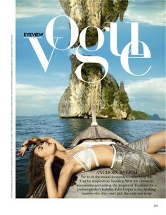 paradise found: samira by luis monteiro for vogue india april 2013 | visual optimism; fashion editorials, shows, campaigns & more!