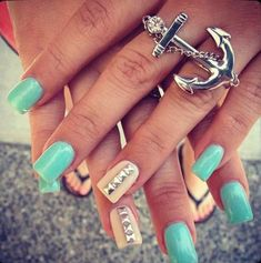 Love the polish color. But I love that ring! So pretty I want one!!