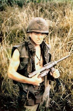 #Vietnam #War * He's definitely NOT a #FNG! Just look into their eyes ...