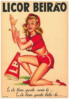 Vintage Licor Beirão poster