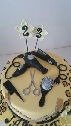 Hairdresser cake