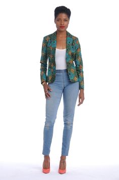 Hey, I found this really awesome Etsy listing at https://www.etsy.com/listing/166365299/african-print-blazer