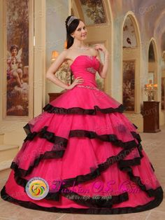 Chibolo Colombia Wholesale Gorgeous Coral Red Appliques Decorate Quinceanera Dress For Spring Sweet 16  Style QDZY391FOR