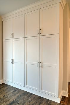 """Exceptional """"laundry room storage diy budget"""" info is available on our website. Mudroom Cabinets, Hallway Cabinet, Hallway Closet, Laundry Cabinets, Mudroom Laundry Room, Laundry Room Design, Closet Bedroom, Closet Doors, Built In Cabinets"""