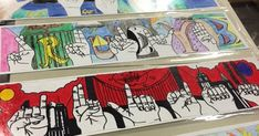 Art 1 started off the school year doing sign language hands. I start the art 1 kids with modified contour drawings . They practice t. Elementary Art Rooms, Art Lessons Elementary, Middle School Art Projects, Art School, Contour Drawings, Art Drawings, Drawing Art, Sign Language Art, 8th Grade Art