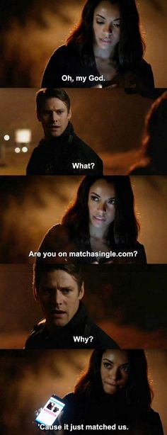 The Vampire Diaries TVD 7X11<<<this made me laugh cuz I actually shipped them in the books