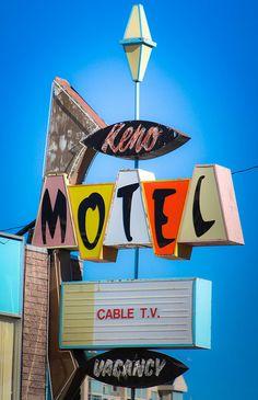 Keno Motel by TooMuchFire, via Flickr