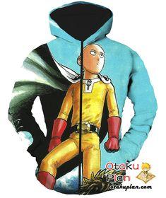 One Punch Man Posing Cool Baldy Saitama T-Shirt - One Punch Man 3D T-Shirts And Clothing