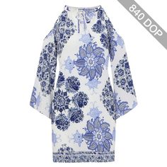 Yoins Porcelain Print Dress