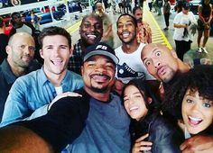 Group selfie idk why Diesel isn't in it