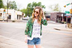 Bomber Jacket | Aviators | Summer Style