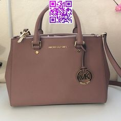 NEW dusty rose color med Sutton handbag MK New MK bag. Med size Sutton bag made with real leather very good material new with dust bag MICHAEL Michael Kors Bags Diese und weitere Taschen auf www.designertasch... entdecken
