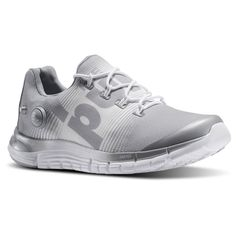 Reebok ZPUMP Z PUMP FUSION Running Womens Baseball Grey White M47894 NEW #Reebok #Running