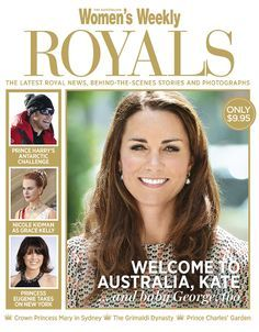 Royals in magazines