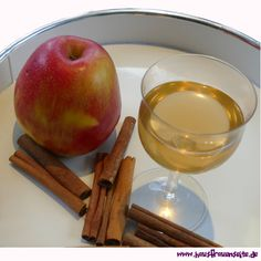 Apfel-Zimt-Likör Rum, Apple, Food, Liquor, Glutenfree, Homemade, Drinking, Apple Fruit, Meal