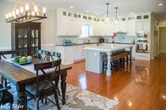 Not Quite Right Kitchen Island- Before and After - Bella Tucker Decorative Finishes Painting Kitchen Cabinets, Kitchen Paint, Dishwasher Cabinet, Painted Fridge, Unfinished Cabinets, Leather Granite, Before After Kitchen, Cabinet Paint Colors, New Countertops